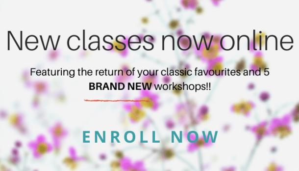 FULL 2020 Class schedule now online!!!