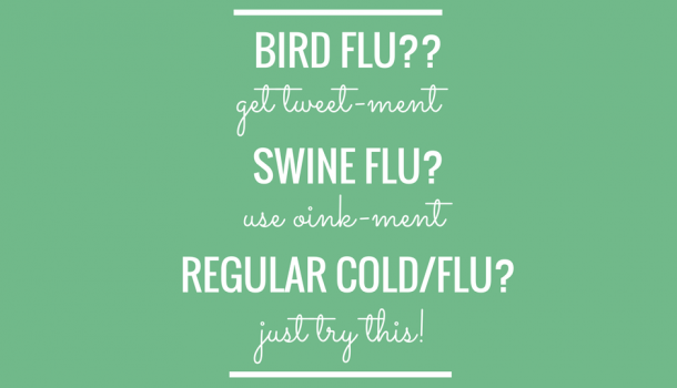 Feeling the onset of cold or flu? Quick, do this!