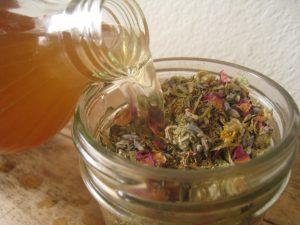 herbs-vinegar